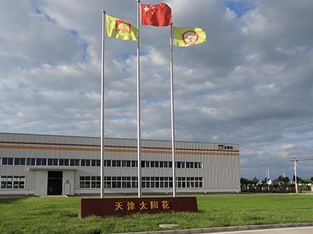 太阳花天津公司厂房环境