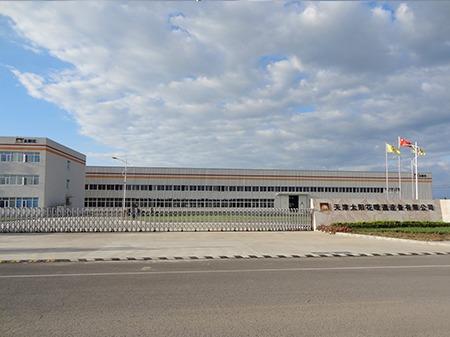 太阳花天津公司厂房大门