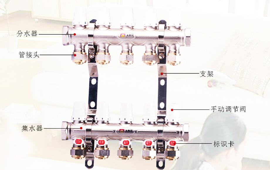 一体锻造手动控制型 分集水器Y-01